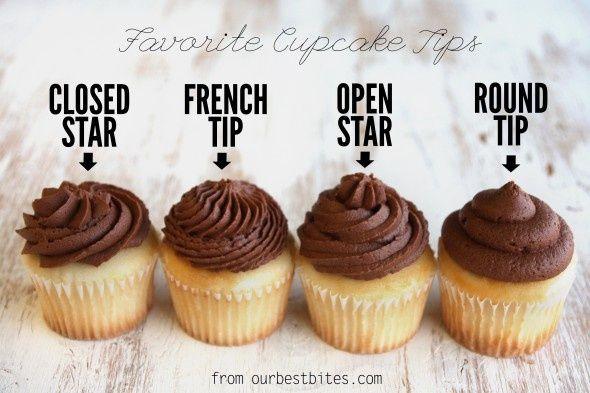 Favorite icing tips!!! #cupcakefrostingtips