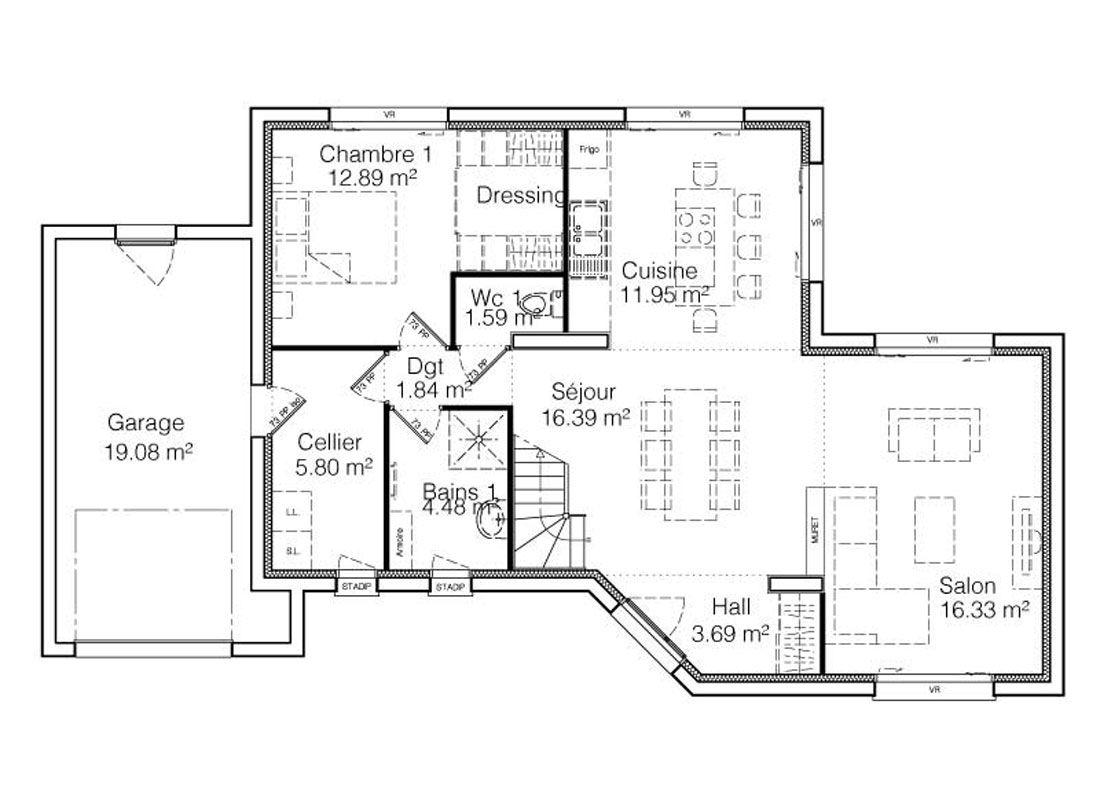Plan Appartement Rez De Chaussee Infos Et Ressources 6