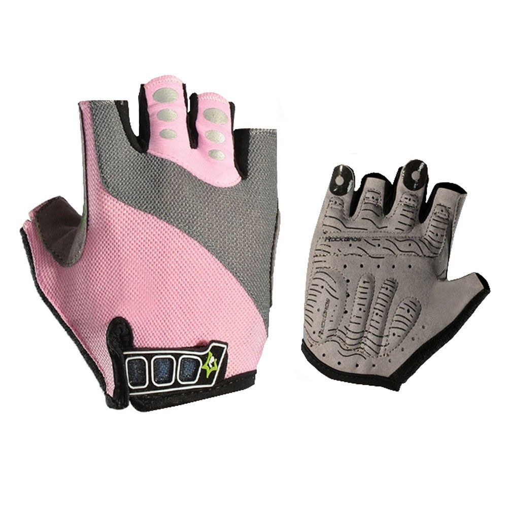 Bicycle Gloves Half Finger Fingerless Cycling Glove For Sports