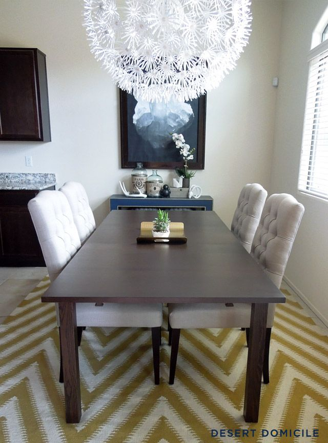 Desert Domicile Console Table Swap Dining Room