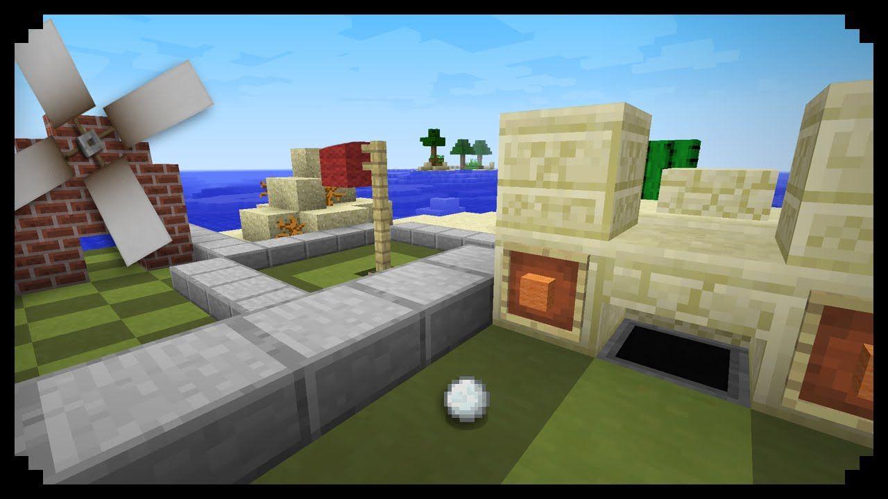 Minecraft How To Make A Minigolf Course Minecraft Minecraft Room Minecraft Projects