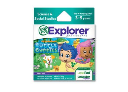 Explorer game cartridge nickelodeon bubble guppies we - Jeux bubble guppies ...