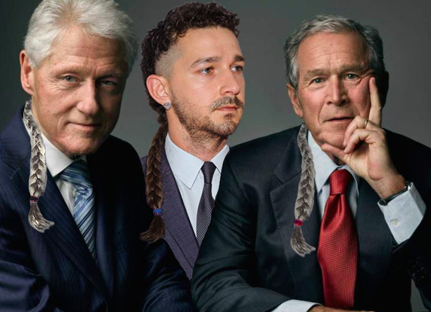 Its Friday So Heres A Picture Of Bill Clinton Shia Labeouf And