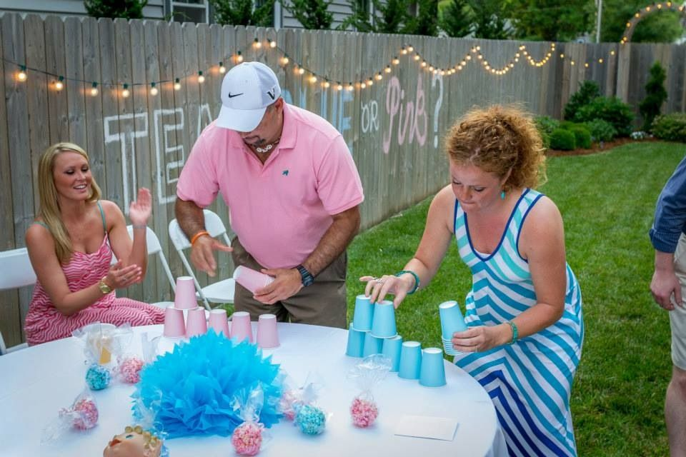 Minute To Win It Games Gender Reveal
