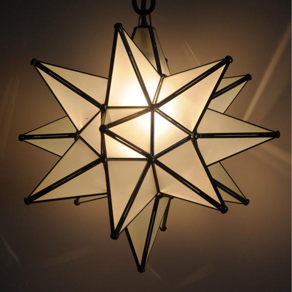9640l Gl Moravian Star Light Large