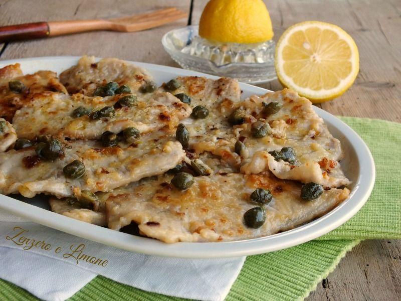 Lonza ai capperi e limone ricette da provare food for Cucinare jalapenos
