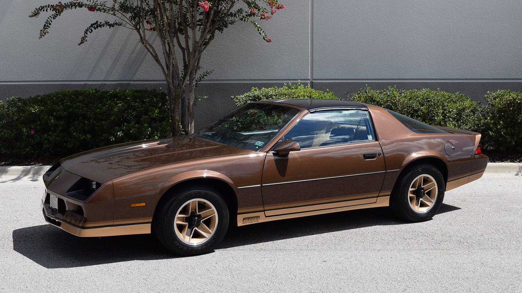 1984 Chevrolet Camaro Z28 Presented As Lot K51 At Kissimmee Fl Camaro Chevrolet Camaro Chevrolet