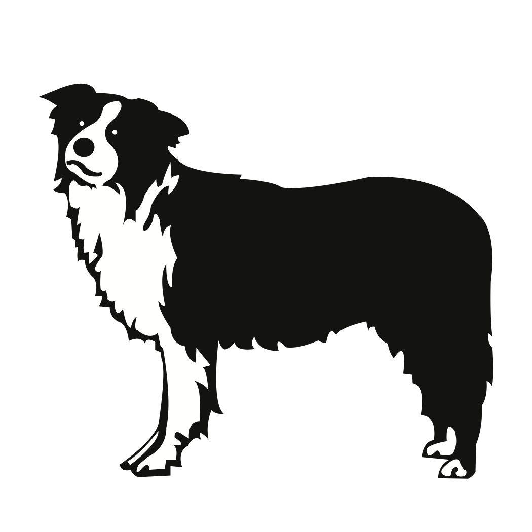 farm silhouette clip art farm dog border collie exploring rh pinterest com Border Collie Cartoon border collie clipart black and white