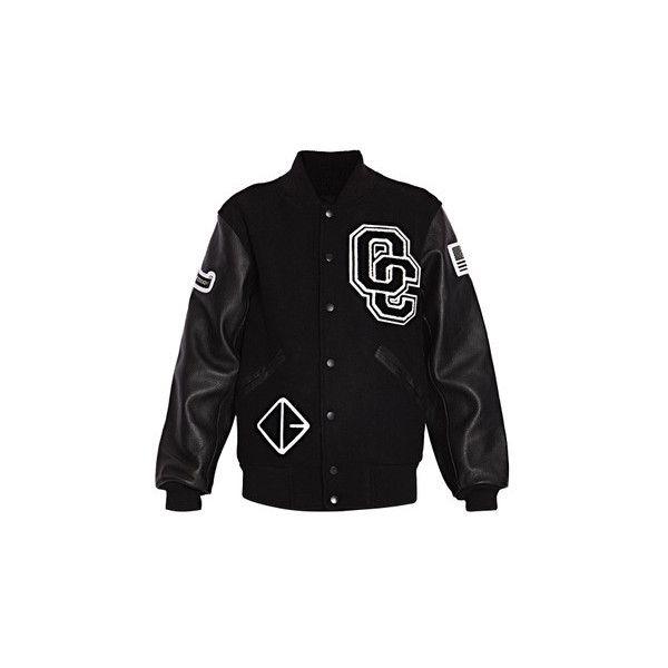Opening Ceremony Varsity Jacket | Varsity jacket, Black long