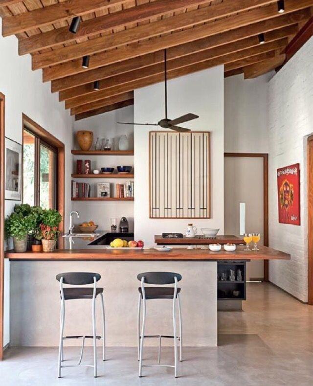 Cocina soñada | Casas de campo simples | Pinterest | Cocinas, Casas ...