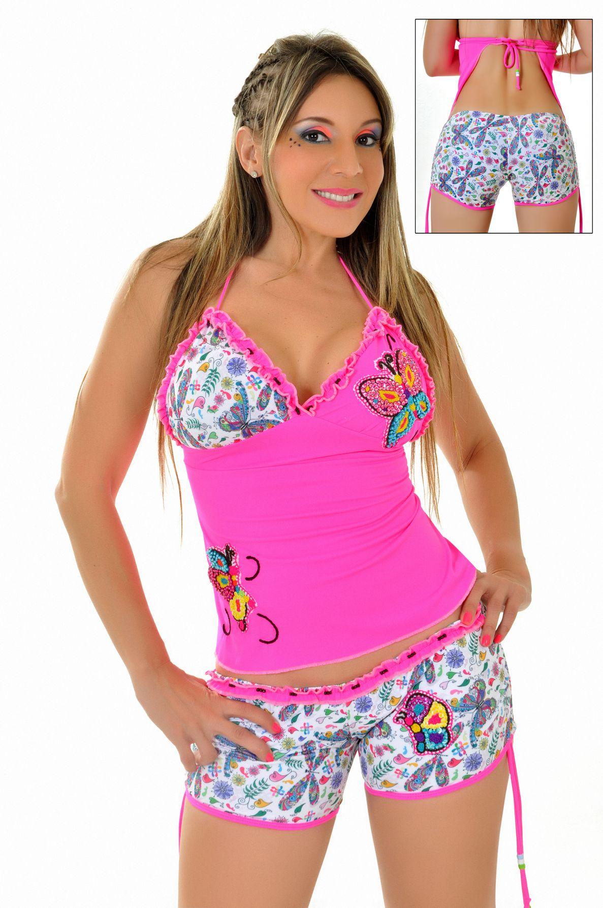 REF: ITK 5 FLOWER BY PAOLA GARCIA SAS • vestido de baño de dos ...
