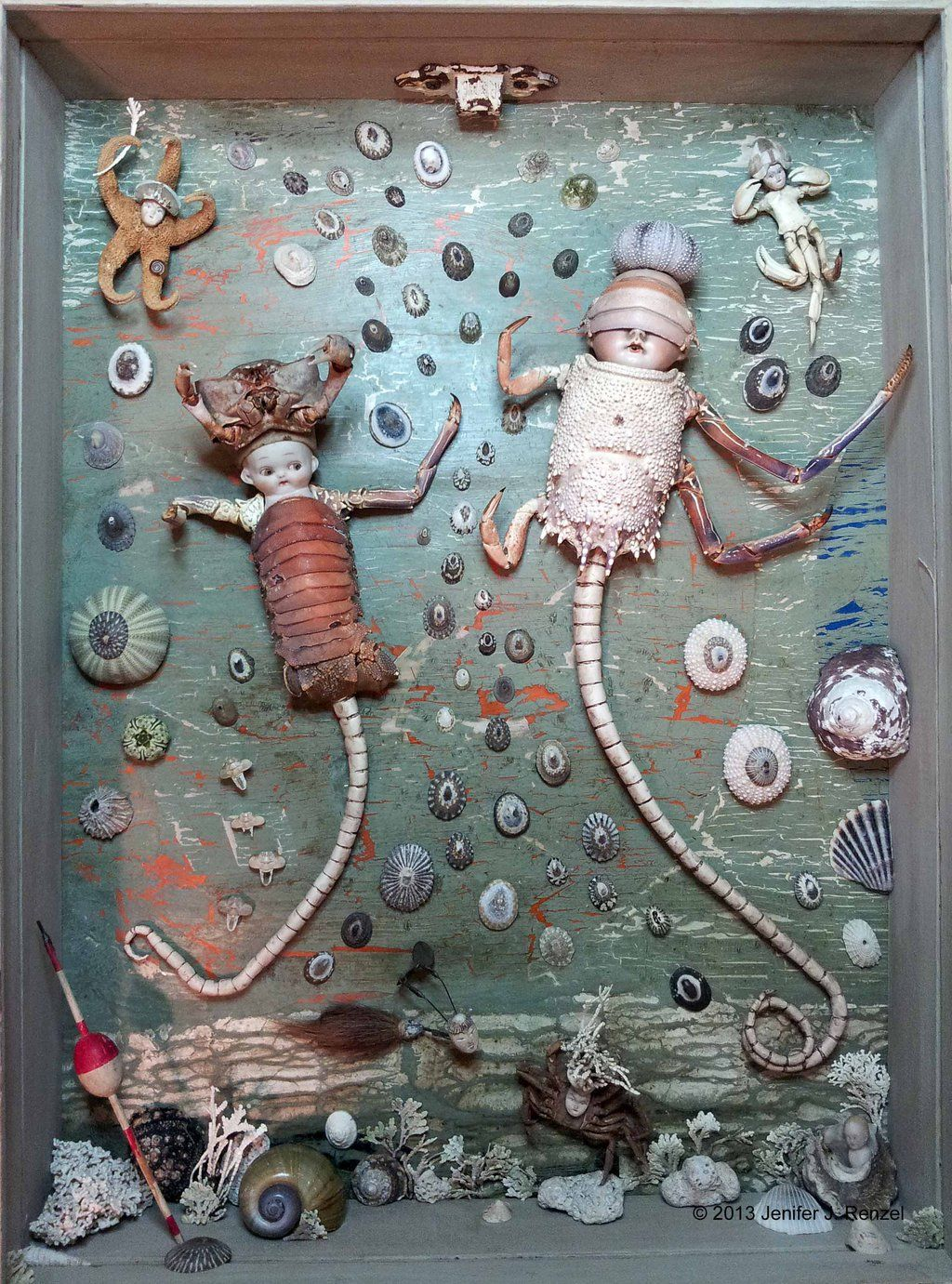 Assemblage: Water Babies by bugatha1 on deviantART