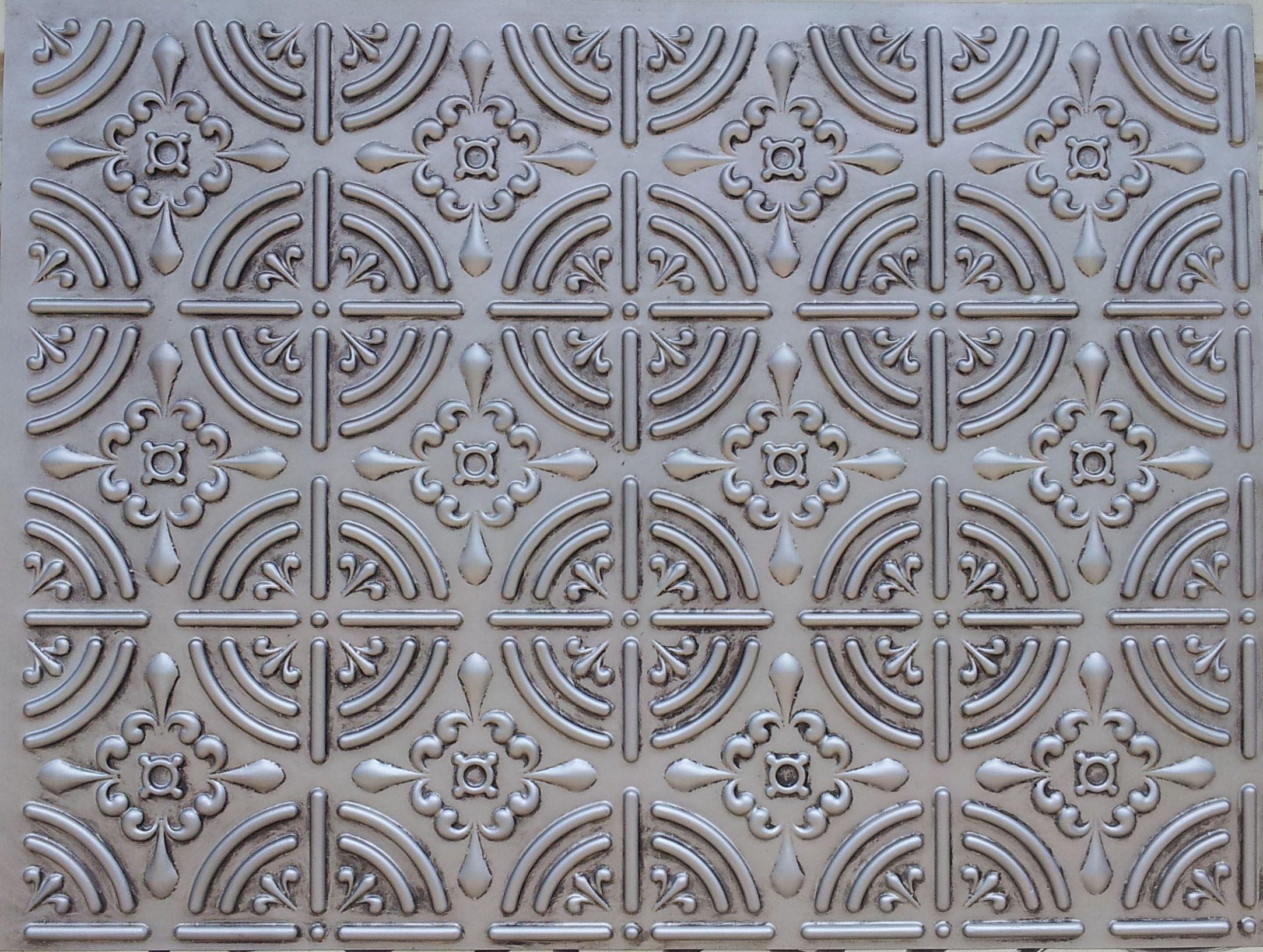 photos faux tin library net decorativeceilingtiles tiles ideas ceiling color by tile schoolhouse silver idea glueup