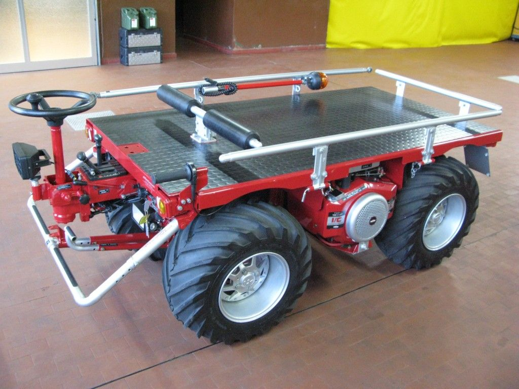 Special Multipurpose Vehicle Fresia F18 4x4 Red Version Many Models Available In Our Workshop