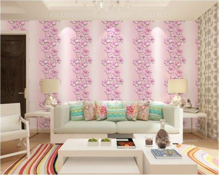Terbaru 26 Wallpaper Dinding Yg Cantik 60 Motif Wallpaper Dinding Ruang Tamu Minimalis Harga Membuat Cantik Dinding Dengan Wa Di 2020 Ruang Tamu Rumah Ruangan Dekor