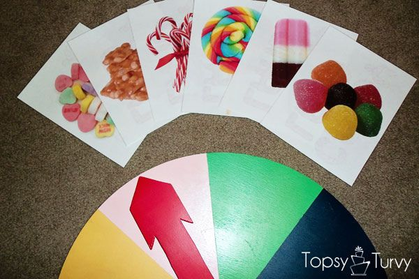 life-sized Candy Land game to play in the backyard...so fun!