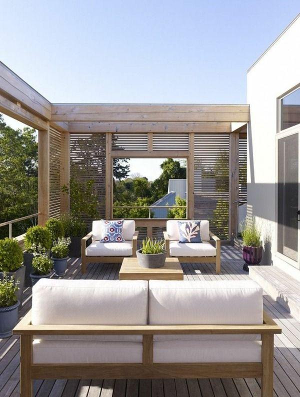 design ideas modern spacious terrace cool