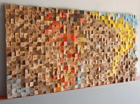 30x60 Inch Rustic Wood Wall Art Woodburning Reclaimed Wood Etsy In 2020 Rustic Wood Wall Art Wood Wall Art Geometric Wall Art