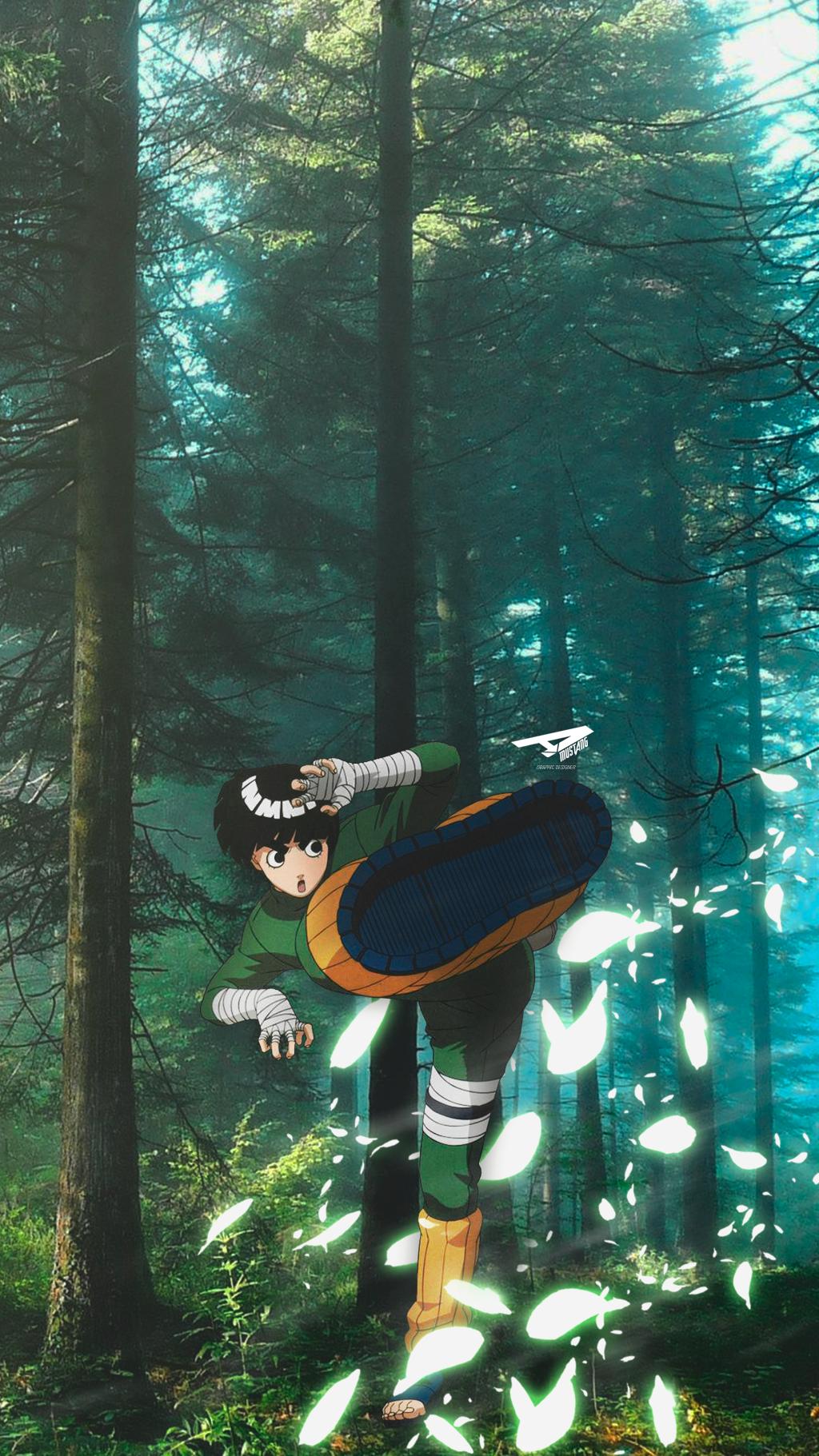 Rock Lee Wallpaper By mustaGOD in 2020 Anime wallpaper