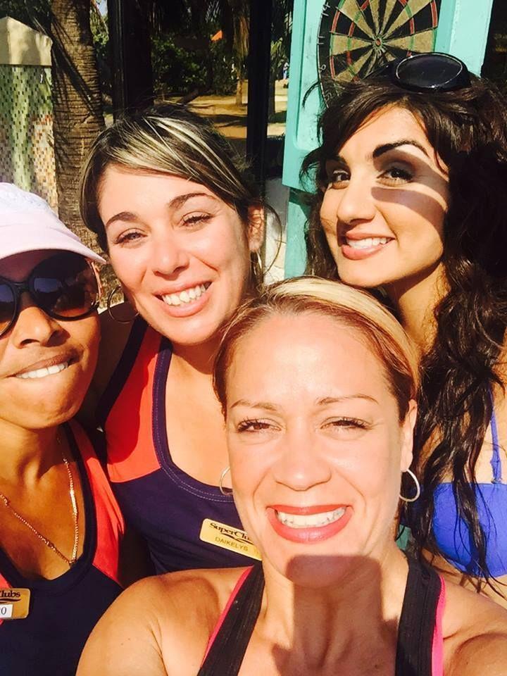 NRG2GO instructor Sonia J Dhuga  - Zumba selfie in Cuba, at Breezes Bella Costa! #nrg2go Tell a friend about NRG2GO!!