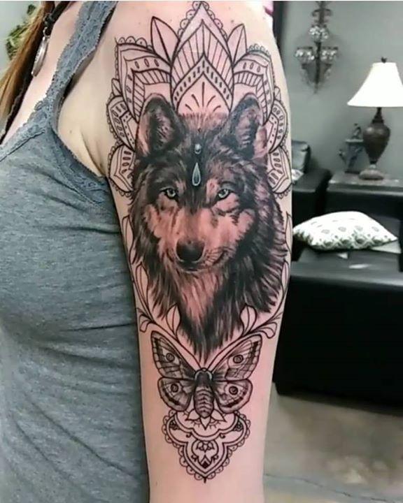 2d48a5cc0 olio.tattoo Horse Mandala Tattoo by Matt from Dark Horse Tattoo Company -  Gilbert,