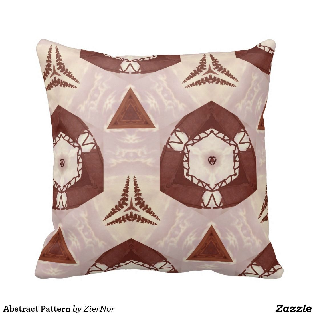 Abstract Pattern Throw Pillows
