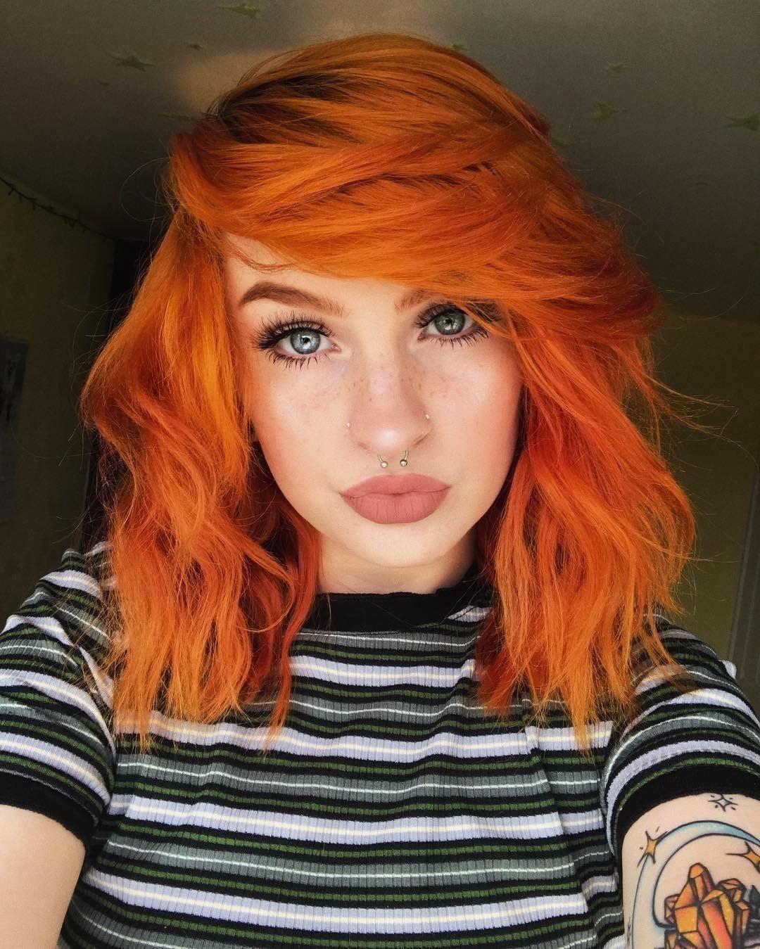 F Oxbaby Has Adorable Sunny Locks Thanks To Sunset Orange By Arctic Fox Shop Here Www Beserk Com Au Ar Hair Color Orange Orange Hair Dye Fox Hair Dye
