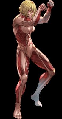 Attack On Titan Female Titan In 2020 Female Titan Attack On Titan Anime Attack On Titan Tattoo