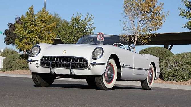 1953 Chevrolet Corvette Roadster 235 150 Hp 1 Of 300 Produced