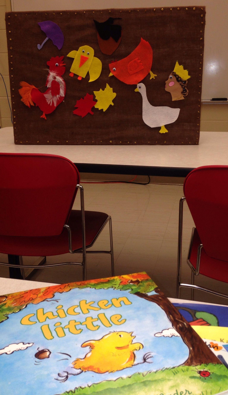 Language Literacy For Preschoolers Prcc Chicken Little