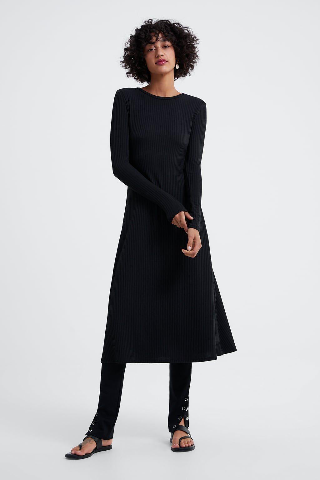 6794b5453f Puffy sleeved dress in 2019