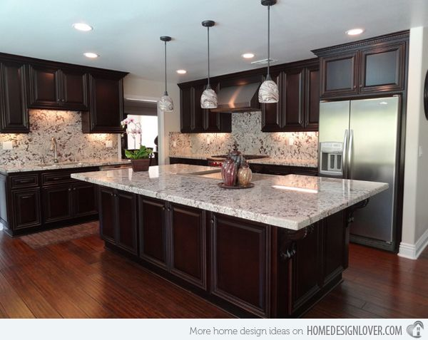 15 different granite kitchen countertops | granite kitchen