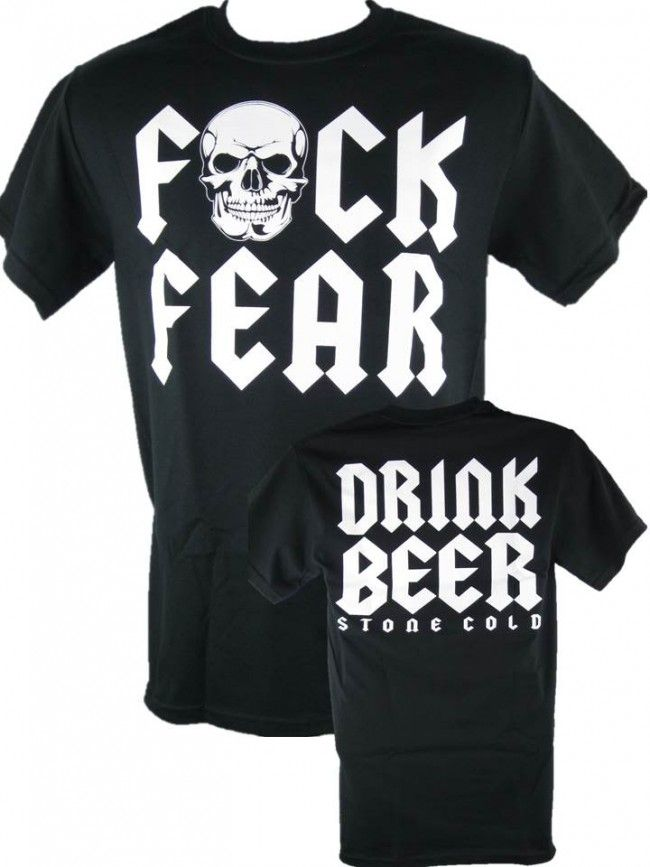 Image result for fuck fear drink beer