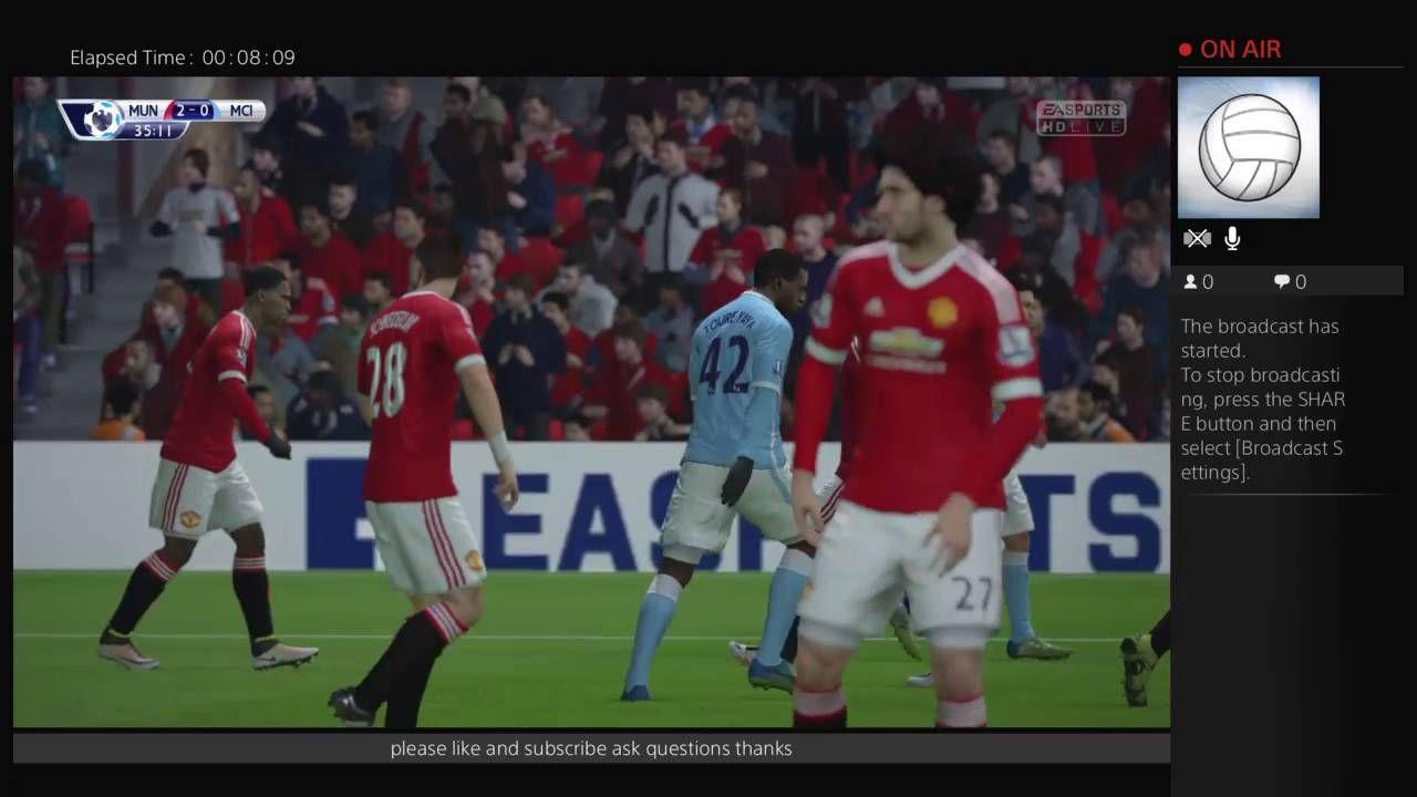 Man Utd V Man City Derby Day 10 09 16 Fifa 16 Manchester Derby Derby Day Mufc