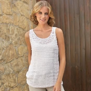 modele tricot gratuit debardeur femme