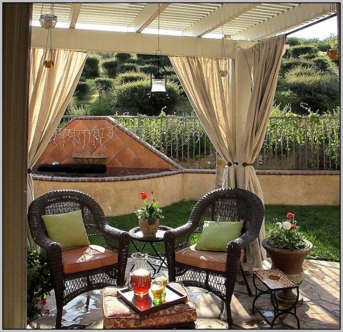 pinterest patio curtain ideas patios