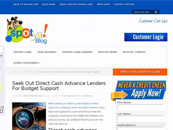 Cash advance deposit picture 1