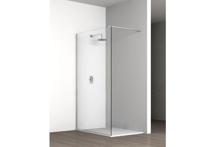 Box Doccia Walk In.Box Doccia Walk In A Parete Cristallo 8 Mm Bathroom Pinterest