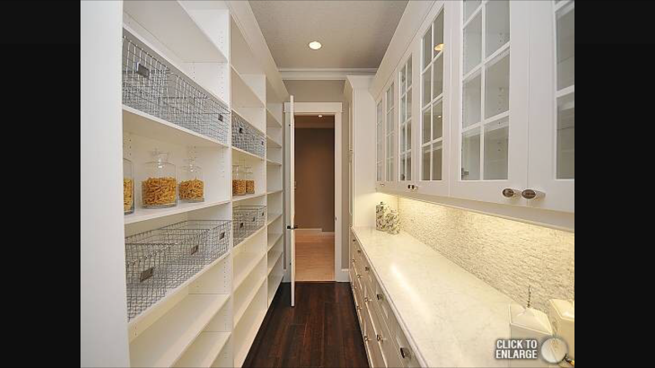 Walkthrough Pantry With Images