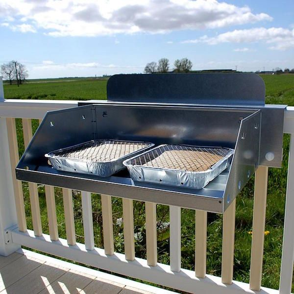 Hook N Cook Disposable Bbq Stand Bbq Stand Disposable Bbq Small Balcony Design