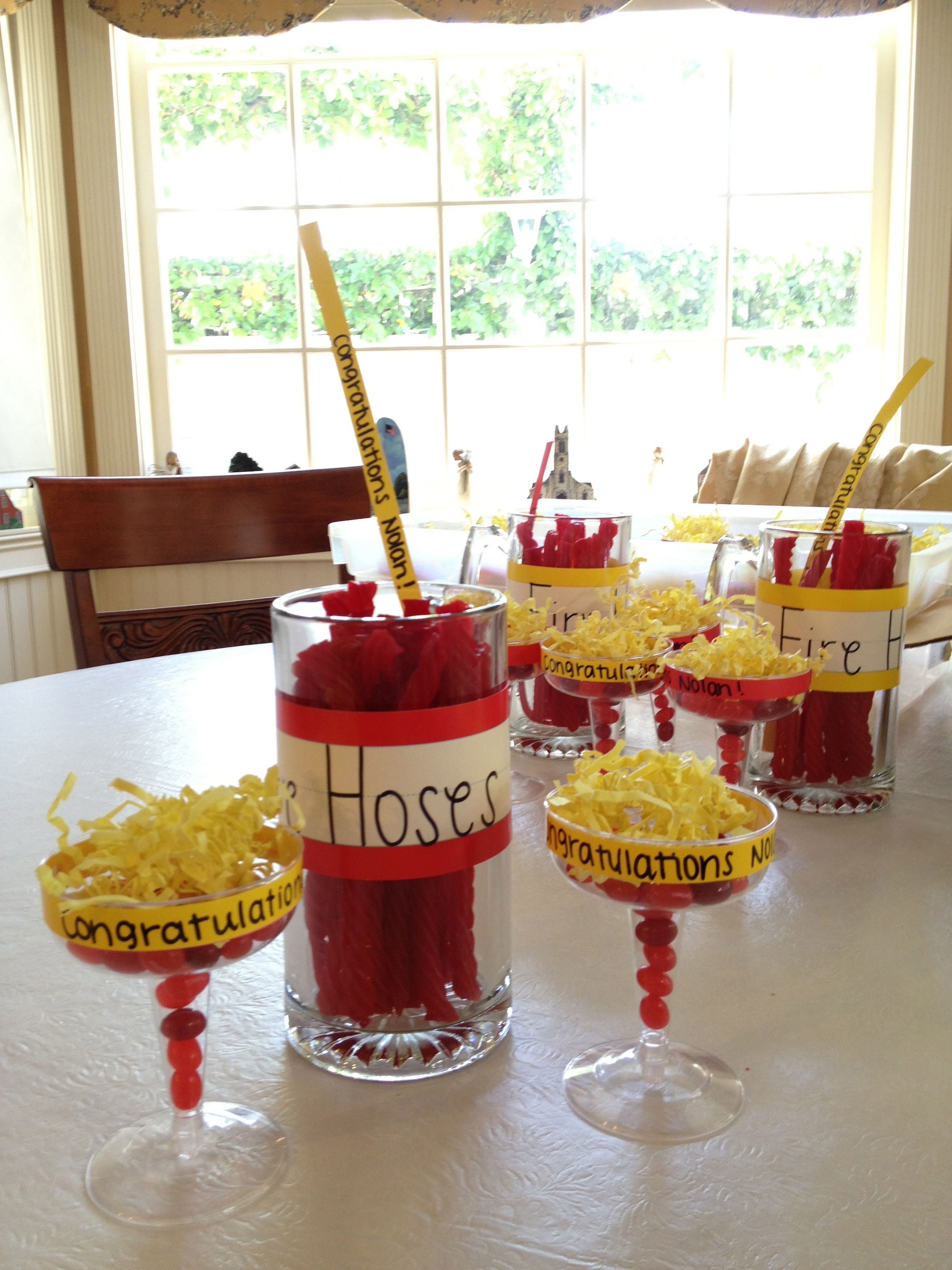 fire fighter graduation party favors | Clever | Pinterest ...