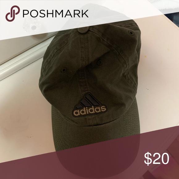 426ef4c3dc061 Hat Army green adidas hat adidas Accessories Hats