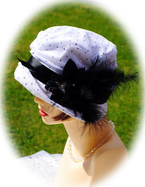 1920s fabulous flapper Cloche hat by aileens4hats on Etsy, £35.00