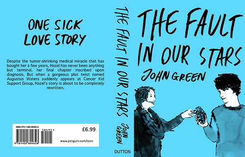 Fault In Our Stars Book Cover Front And Back | Miniature ...