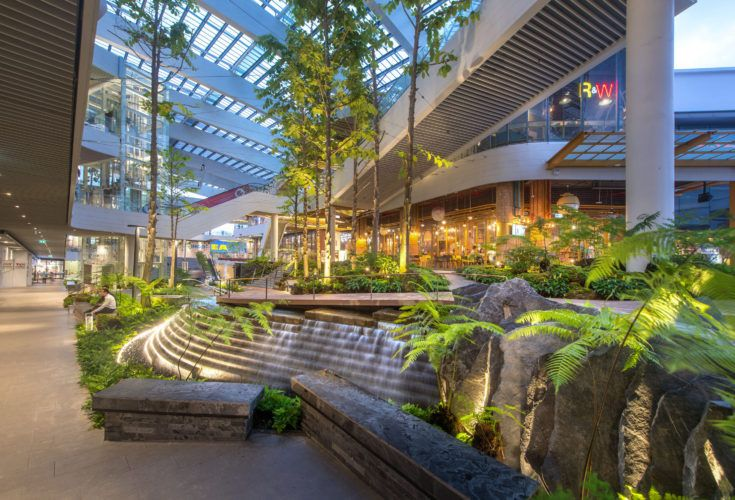 Garden Walk Mall: Mega Food Walk By Landscape Collaboration.