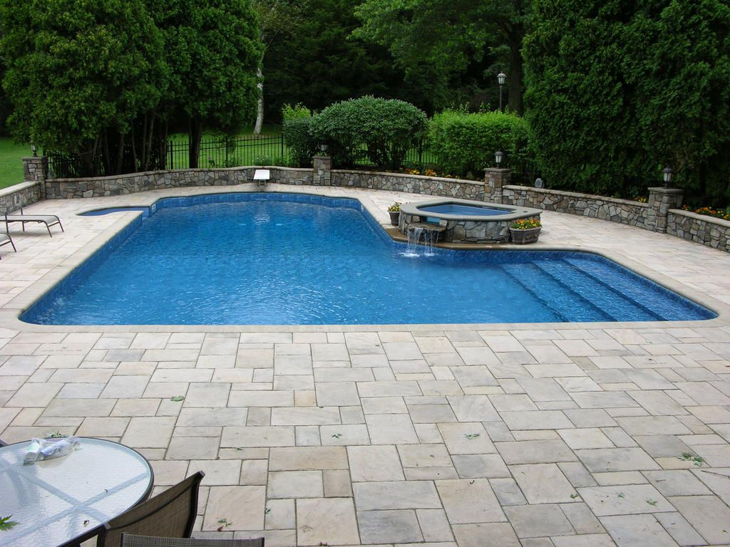 Most popular small l shaped swimming pool designs google for Swimming pool ideas