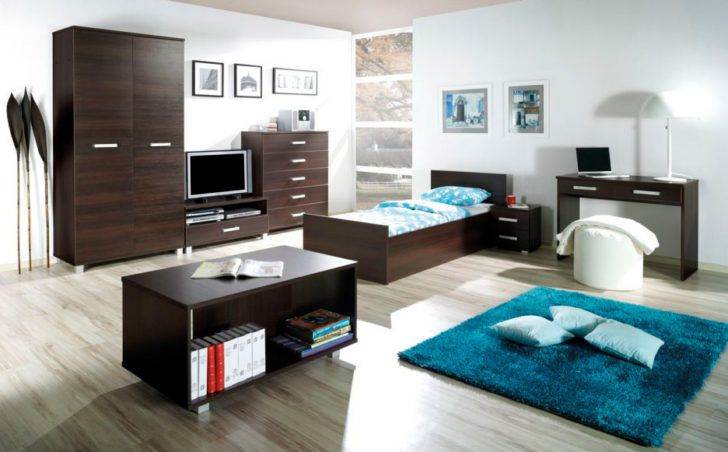 Dormitorio adolecente con muebles oscuros | camas | Pinterest ...