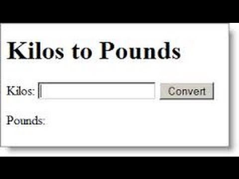 Kilos To Pounds Watch My Video Learn How Convert Kilograms Kg Lbs