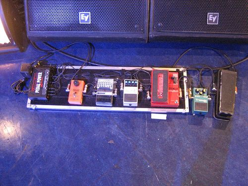 tom morello pedalboard image by justin erdman morello. Black Bedroom Furniture Sets. Home Design Ideas