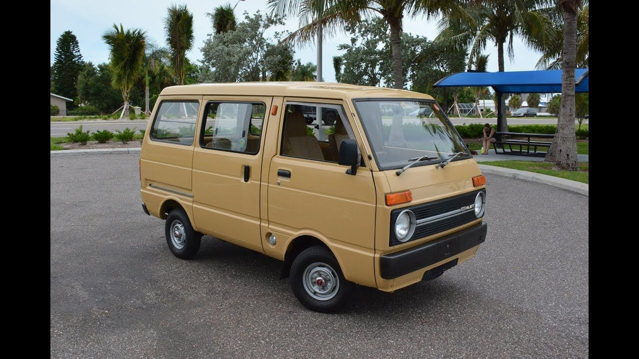 1983 Daihatsu Hijet In The Usa Pov Walk Around And Long Drive